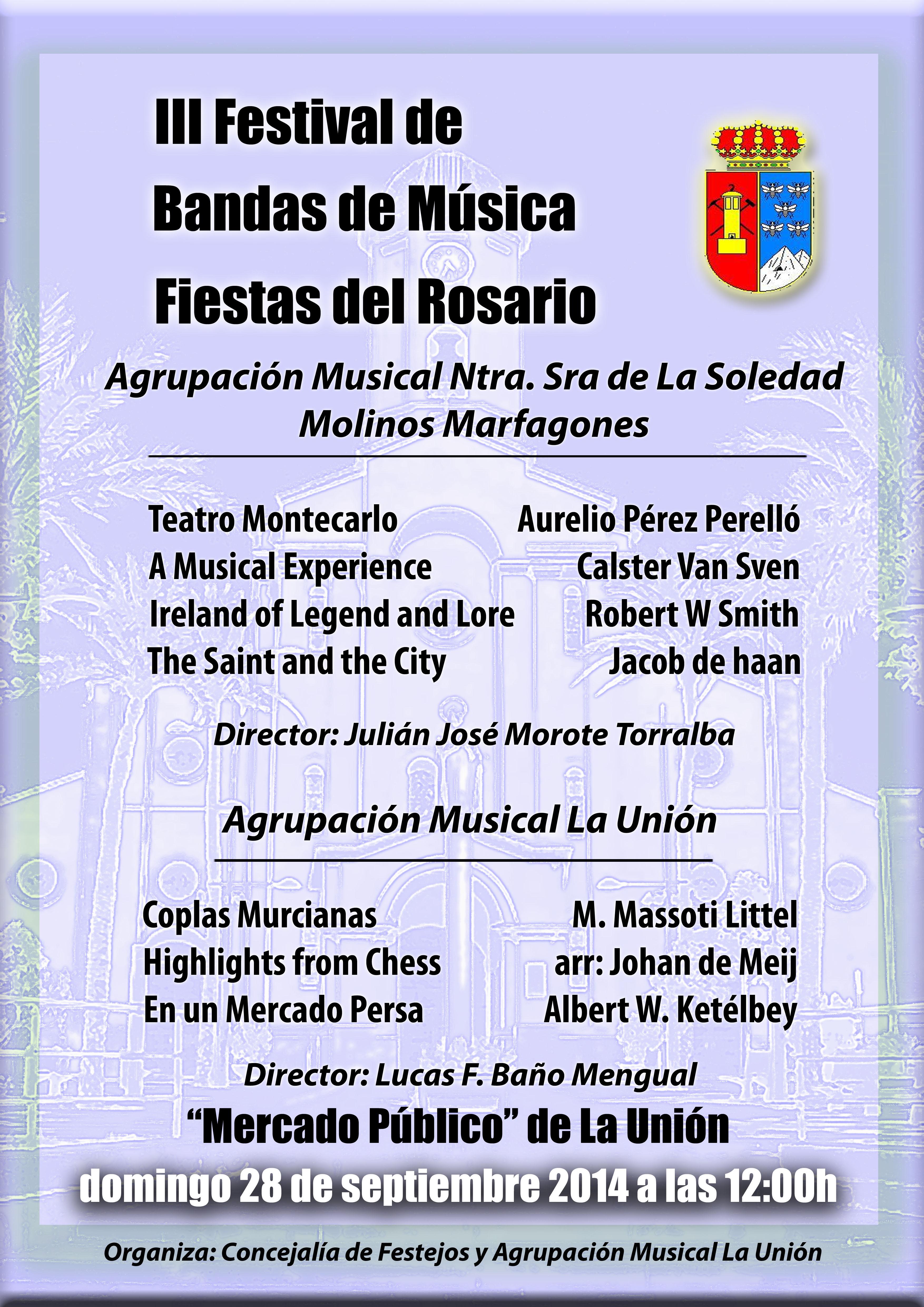 Festival bandas de musica 2014