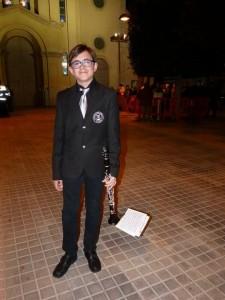 Miguel Certamen de Cuerdas y metales