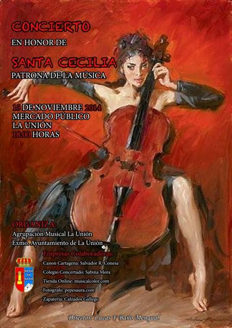 santa-cecilia-2014-agrupacion-musical-la-union-concierto